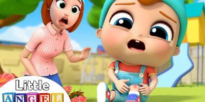 I've got a Boo Boo | Boo Boo Song 2 | Little Angel Kids Songs