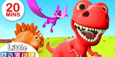 We Are The Dinosaurs, Yum Yum Vegetables, Where is my Fin +More Kids Songs by Little Angel