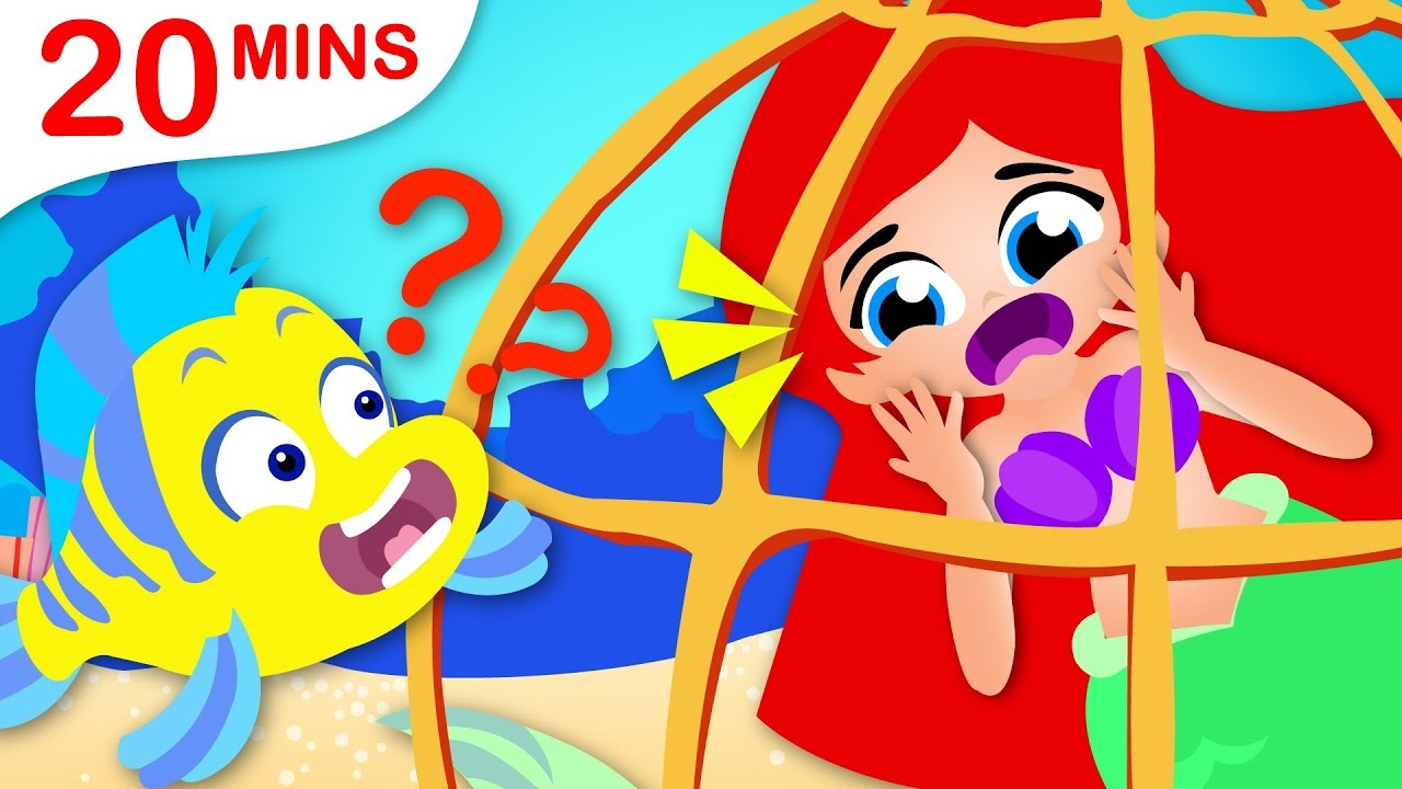 Little Mermaid Princess, Johny Johny Yes Papa, Where are my Teeth? Rhymes & Songs by Little Angel