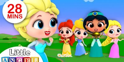 5 Little Princesses Song | Kids Songs and Nursery Rhymes by Little Angel