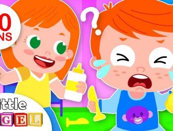 Why am I crying? Kids Feelings Song | Peekaboo | Kids Songs & Nursery Rhymes by Little Angel