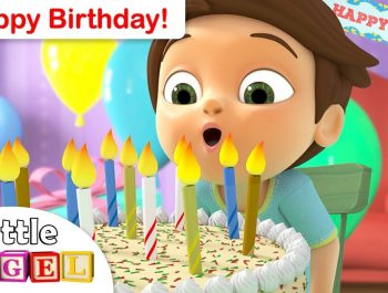 Happy Birthday Song for Children   We Are The Princesses +More Kids Songs by Little Angel