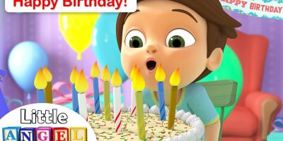 Happy Birthday Song for Children | We Are The Princesses +More Kids Songs by Little Angel