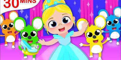 Princess Cinderella | Humpty Dumpty | Kids Songs & Nursery Rhymes by Little Angel