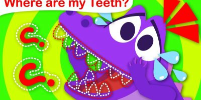 Where are my Teeth? Baby Crocodile Can't find his Baby Teeth | Nursery Rhymes by Little Angel