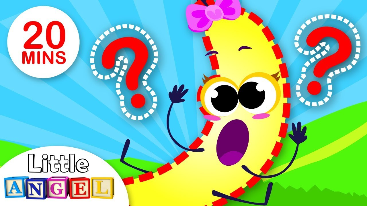 Where's Baby Banana? Baby Apple Looks for his Friend | Fruits and Veggies for Kids | By Little Angel