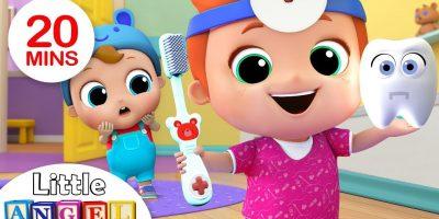 Baby Brush Your Teeth | Nursery Rhymes & Kids Songs – Little Angel