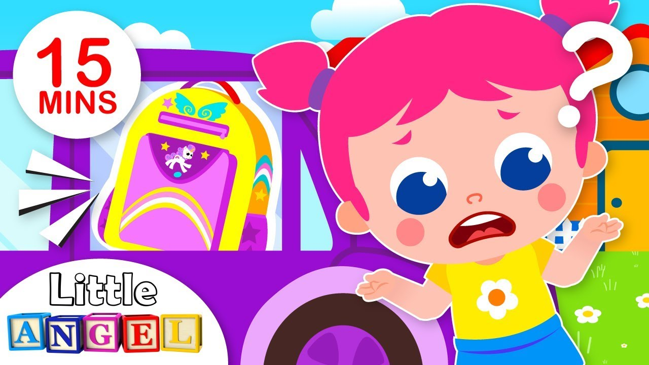 Where's My Bag? (No No Song) | Kids Songs and Nursery Rhymes by Little Angel