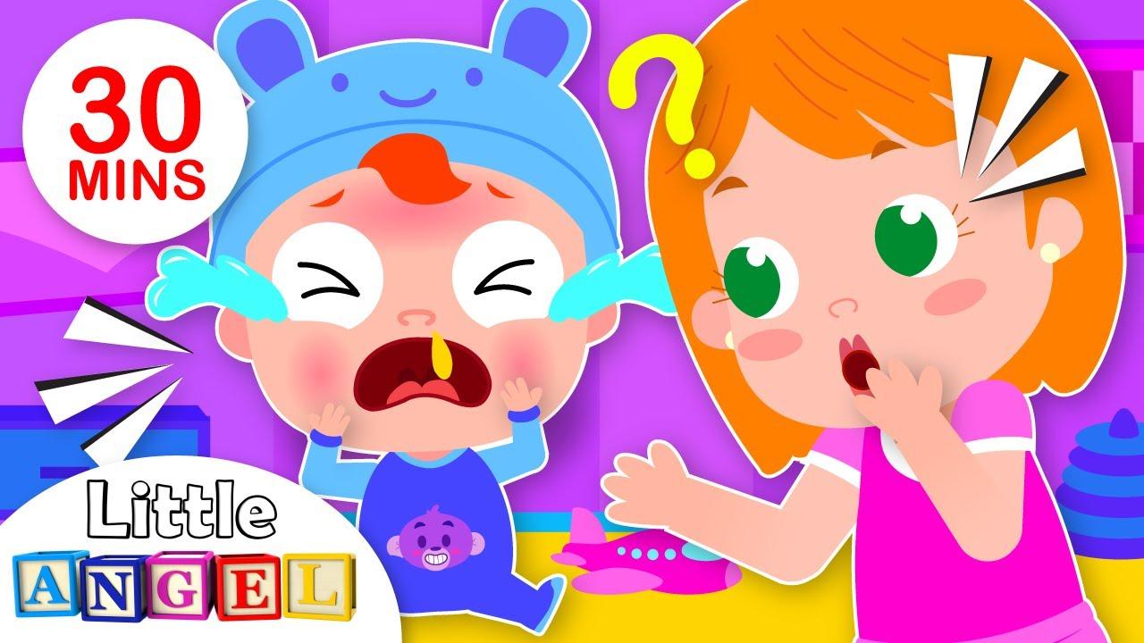 Baby is Sick | Sick Song, Baby Goes to Aquarium | Kids Songs & Nursery Rhymes by Little Angel