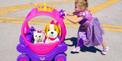أميرة صغيرة وألعاب مضحكة جديدة للأطفال