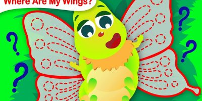 Where are My Wings? | The Caterpillar Becomes a Butterfly | Fun Songs for Kids by Little Angel