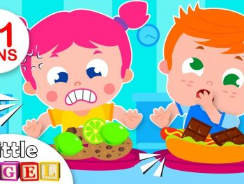 Do you Like Crazy Food? | Fun Songs for Kids & Nursery Rhymes by Little Angel