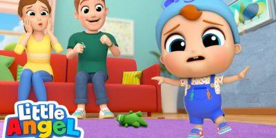 Baby's First Steps! | Little Angel Kids Songs & Nursery Rhymes