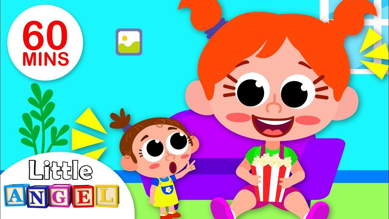 I Want to be a BIG Kid! | Skip to my Lou Song for Kids | Nursery Rhymes For Children | Little Angel