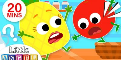 Yum Yum Fruits! (Healthy Habits) | Kids Songs by Little Angel