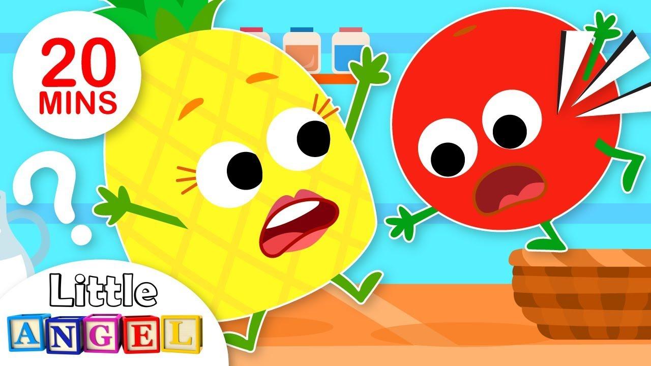 Yum Yum Fruits! (Healthy Habits)   Kids Songs by Little Angel