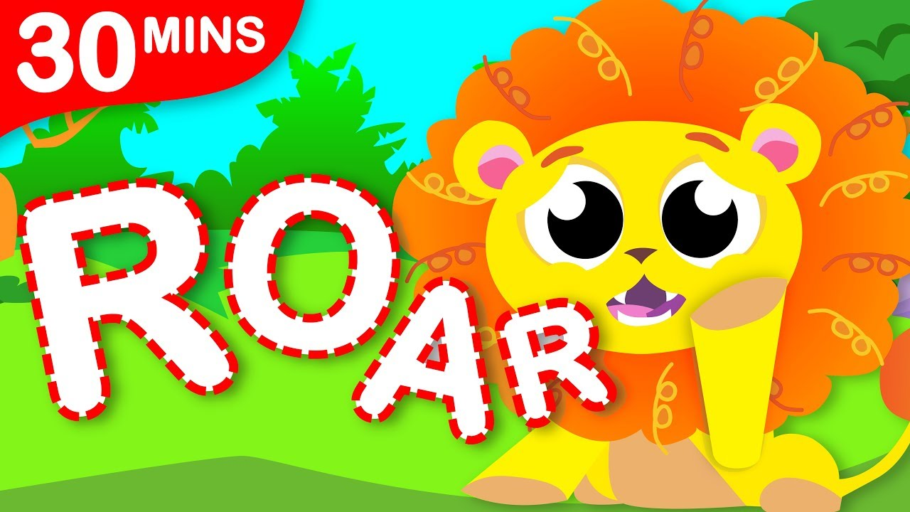 Where Is My Roar? | Jungle Animals Songs | Where are my Sripes and + Fun Songs by Little Angel