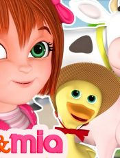 Nursery Rhymes Songs with Lyrics and Action   Collection of Popular Kids Songs by Mike and Mia