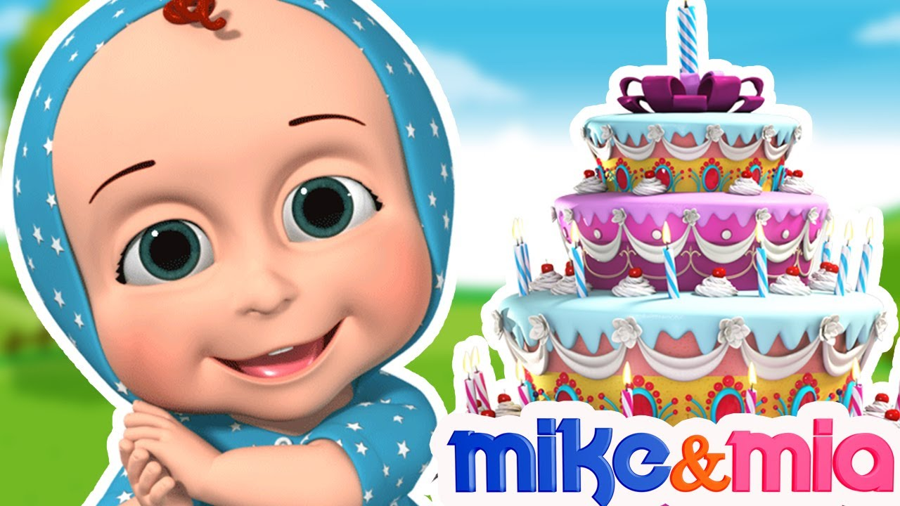 Happy Birthday Song for Kids | Nursery Rhymes and Kids Songs | Happy Birthday to You by Mike and Mia