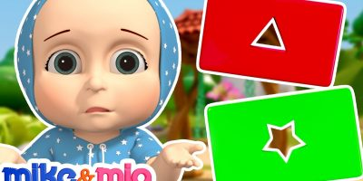The Shapes Song   Baby Learns Shapes   Nursery Rhymes and Kids Songs