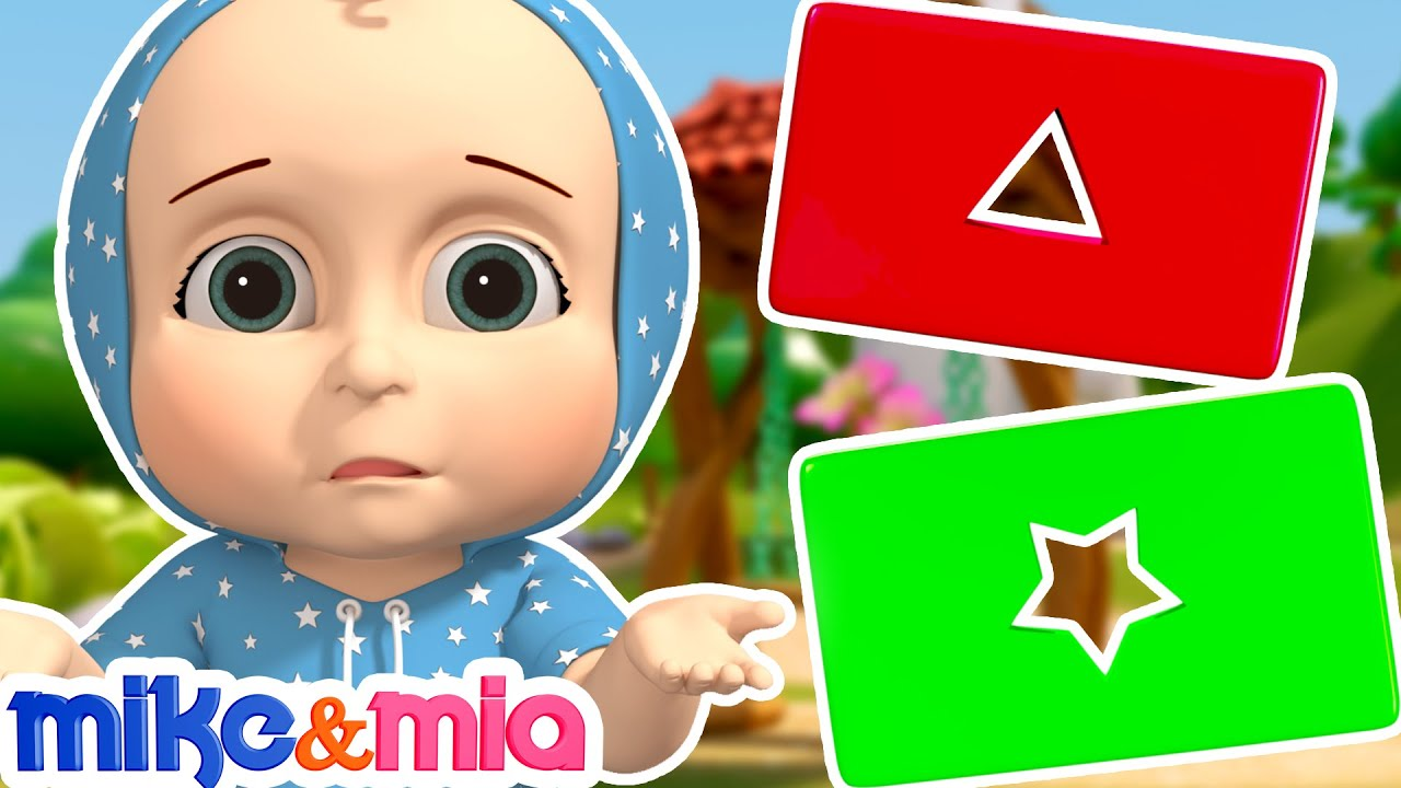 The Shapes Song | Baby Learns Shapes | Nursery Rhymes and Kids Songs