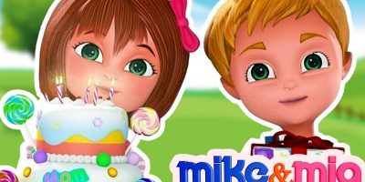 Happy Birthday Song for Children | Party Songs | Nursery Rhymes | Kids Songs by Mike and Mia