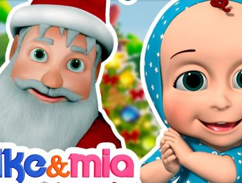Jingle Bells | Christmas Songs | Nursery Rhymes Playlist for Children | Kids Songs by Mike and Mia