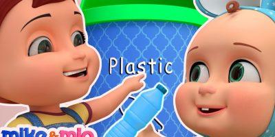 Clean Up Trash Song | Nursery Rhymes | Videos for Babies