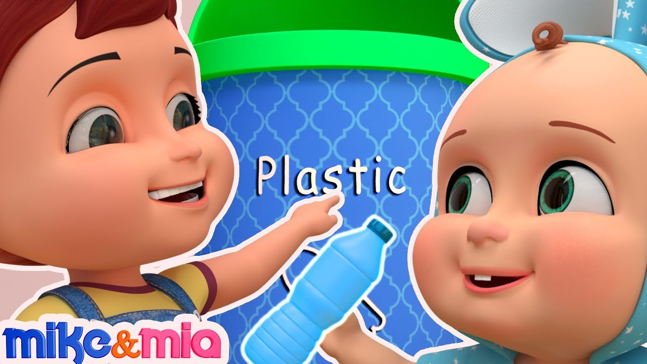Clean Up Trash Song | Nursery Rhymes | Videos for Babies