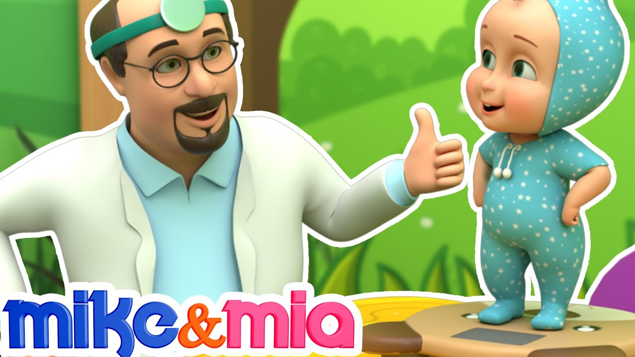 Baby's Visit to the Doctor | Doctor Song | Nursery Rhymes for Children