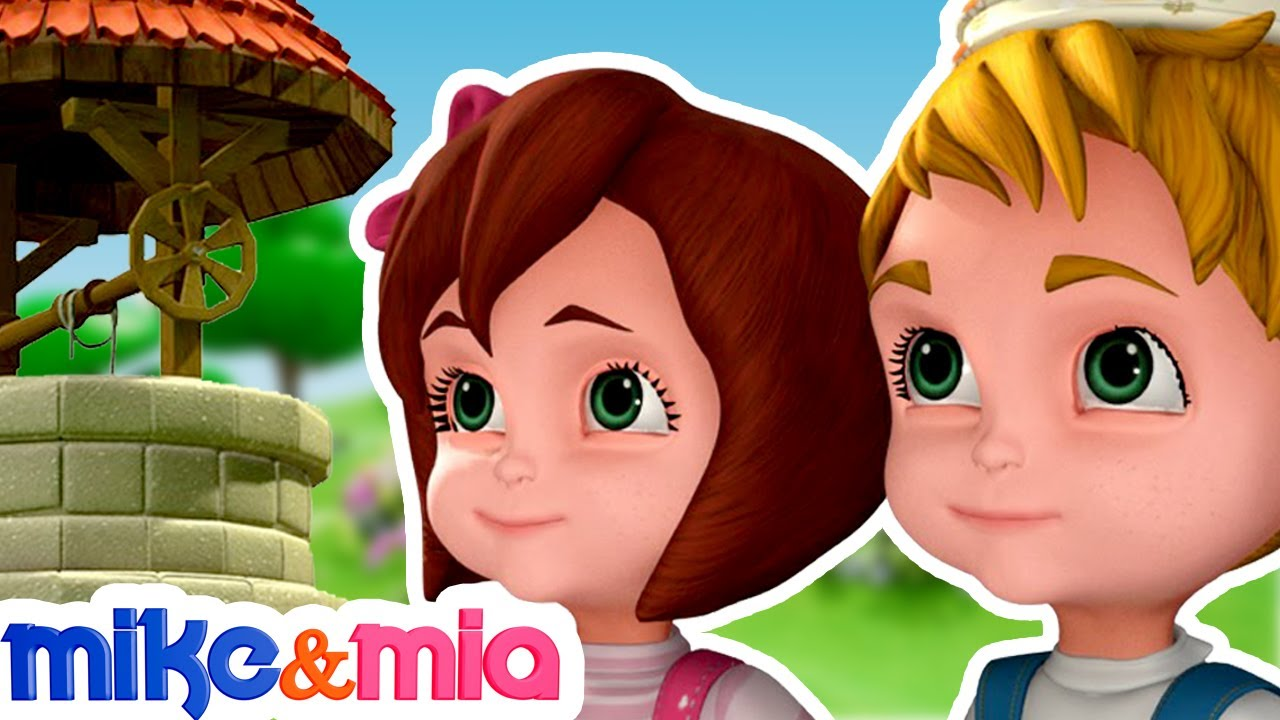 Jack and Jill Rhyme | Nursery Rhymes | Collection of Kids Songs | Baby Songs by Mike and Mia