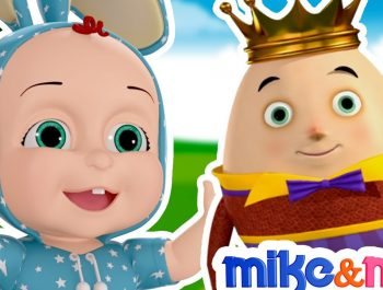 Humpty Dumpty Sat on a Wall | 3D Animated English Rhyme for Children By Mike & Mia