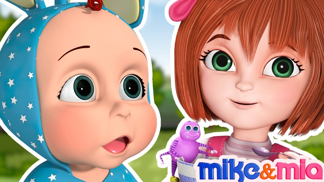 Little Miss Muffet | Popular Nursery Rhymes and Best Kids Songs | Children Songs by Mike and Mia