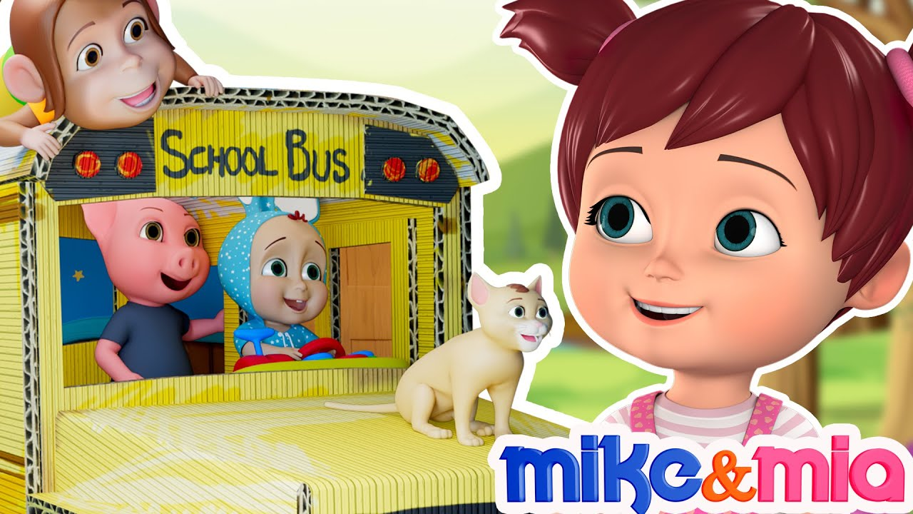 Wheels on the Bus | Latest Nursery Rhymes | Songs for Babies