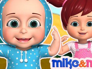 Head, Shoulder, Knees and Toes | Nursery Rhymes | Videos for Babies