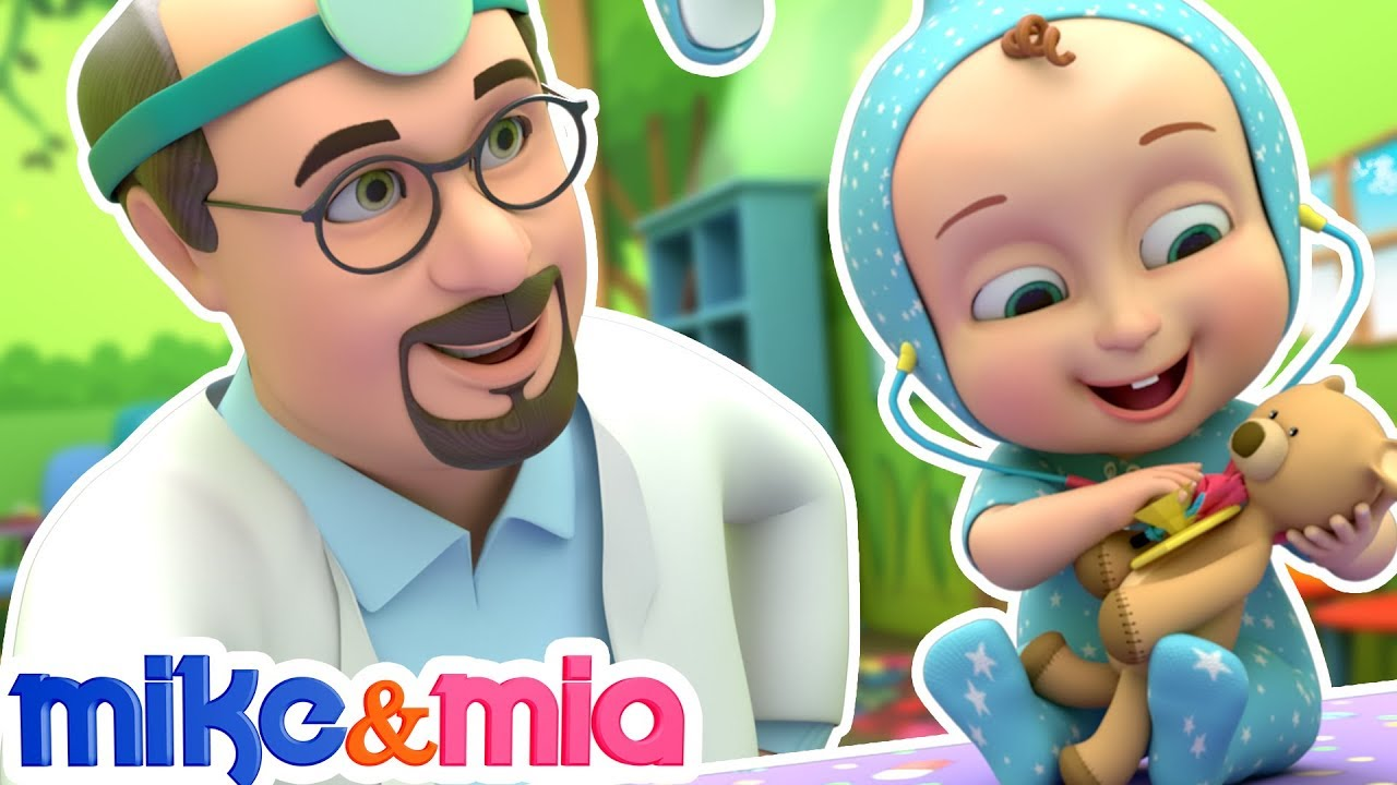 Doctor Checkup Song | Baby's Visit to the Doctor | Nursery Rhymes and Kids Songs