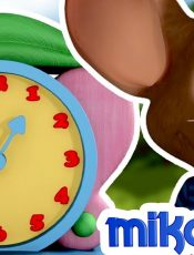 Hickory Dickory Dock Nursery Rhyme with Lyrics   Children Songs & Baby rhymes by Mike & Mia