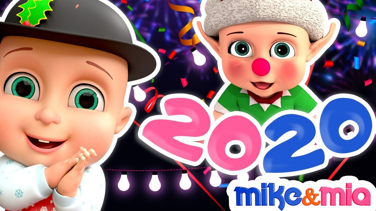Happy New Year Songs for Kids | New Year Songs for Children | Happy New Year 2020