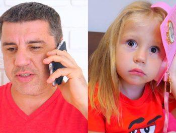 Nastya و papa ألعاب مسلية جديدة