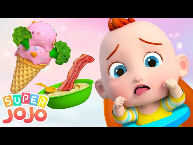 Do You Like Broccoli Ice Cream? | Super JoJo Nursery Rhymes & Kids Songs