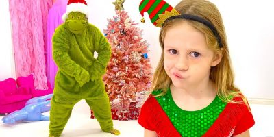 Nastya and the New Year's story for kids