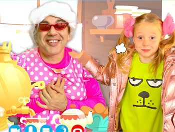 Nastya and a family trip to her grandmother. Useful Story for children