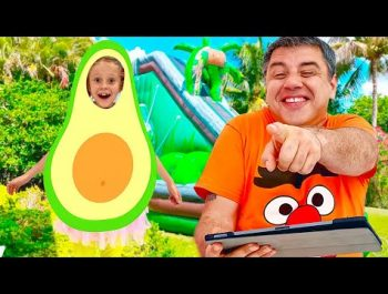Nastya made a to-do list for the day. Useful video for children
