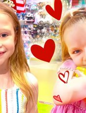 Nastya takes care of the a child who got lost in the toy store. Stories for kids