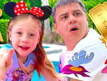 Nastya and Dad solve the mystery challenge of 5 keys. Story for kids