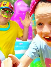 Nastya finds out how smart and creative she is. Story for kids